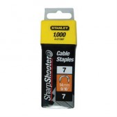 Pachet 1000 capse cablu STANLEY, 14mm