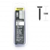 Pachet 1000 cuie STANLEY TIP J, 15mm