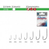 Carlige GAMAKATSU LS-1112N NI 25BUC/PL, nr.14