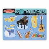 Puzzle sonor Instrumente muzicale Melissa&Doug