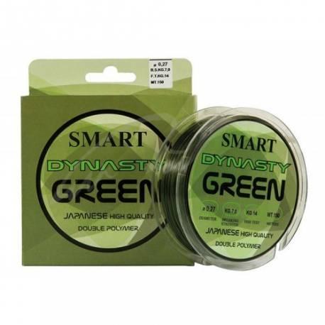 Fir monofilament MAVER DYNASTY GREEN 150m 0.24mm 5.5kg