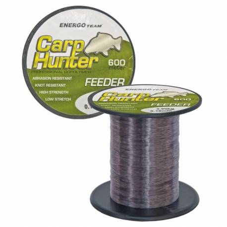 Fir monofilament CARP HUNTER Feeder 600m 0,18mm 3.90kg