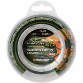 Fir leader PROLOGIC MIMICRY GREEN HELO 040MM/11KG/100M