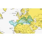 Harta electronica NAVIONICS MEDITERRANEAN & BLACK SEA