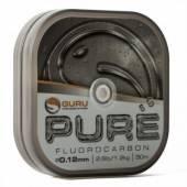 Fir fluorocarbon GURU PURE 0,12MM/2,3KG/50M