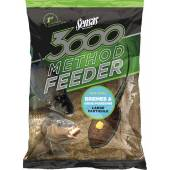 Nada SENSAS 3000 METHOD BREAM & BIG FISH 1KG