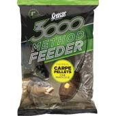 Nada SENSAS 3000 METHOD CARP PELLETS 1KG
