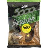 Nada SENSAS 3000 METHOD CARP SPICY 1KG