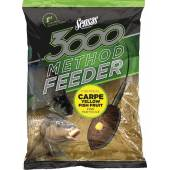 Nada SENSAS 3000 METHOD CARP YELLOW 1KG