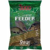 Nada feeder SENSAS 3000 SUPER FEEDER RIVER BLACK 1KG