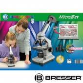 Set microscop pentru copii BRESSER JUNIOR 40X-1024X 8855000