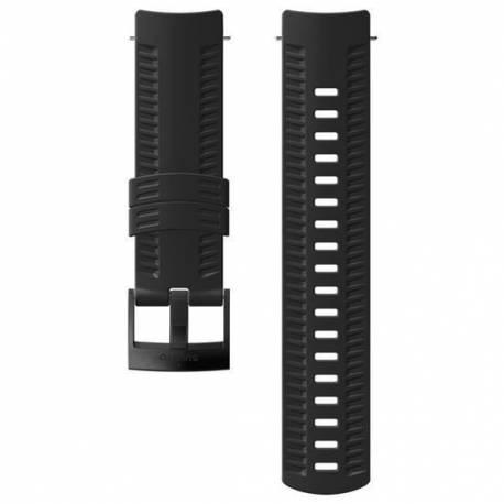 Curea Ceas Suunto 24mm Athletic 3, silicon, negru, M