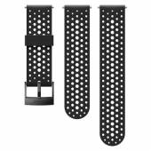 Curea ceas Suunto 24mm Athletic 1, silicon, negru S/M