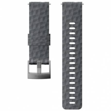 Curea Ceas Suunto 24mm Explore 1, silicon, graphite/gray M