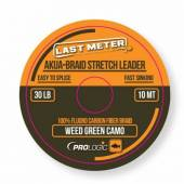 Leader textil PROLOGIC AKUA, weed green camo, 30lbs, 10m