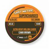 Leader textil PROLOGIC SUPERCHARGED, camo brown, 40Lbs, 10m