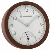 Ceas de perete cu higrometru BRESSER MyTime Mini 8020115HNAQUA