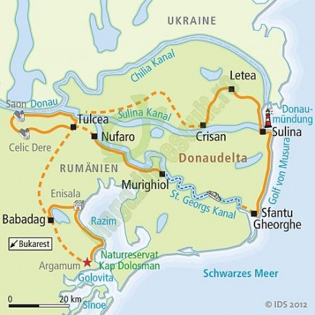 Harta Electronica Bulstar Dunarea Si Delta Dunarii Hobbymall