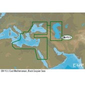 Harta electronica C-MAP JEPPESEN EAST MEDITERRANEAN, BLACK CASPIAN SEAS (WIDE MAP)