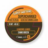 Leader PROLOGIC LEADCORE SUPERCHARGED, Camo green, 50Lbs, 10m