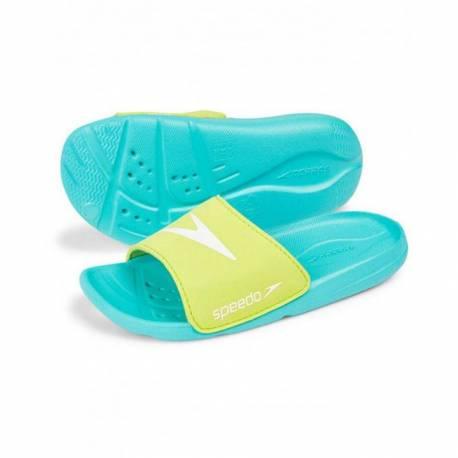 Papuci copii Speedo Atami Core albastru/verde 28