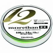 Fir textil DAIWA MORETHAN X12 EX+SI LIME 018MM//16,2KG/135M