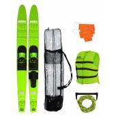 "Set JOBE ALLEGRE 67"" COMBO SKIS Lime Green"