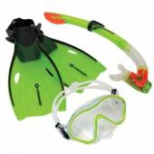 Set snorkeling Junior Bermuda SCHILDKRÖT