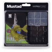 Kit accesorii MUSTAD PIKE cu cleste pentru inele