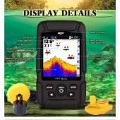 Sonar Color 2 in 1 pentru pescuitul din Barca si de pe Mal LUCKY Fishfinder