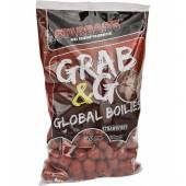 Boilies fiert STARBAITS Grab&Go Global, Strawberry, 20mm, 1kg