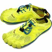 Incaltamine VIBRAM V-RUN YELLOW BLUE TEAL, Men