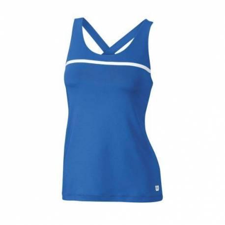Maiou sport Wilson Team, albastru, pentru femei, S
