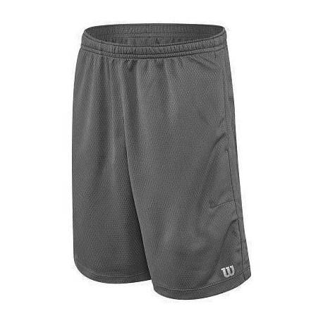 Pantaloni scurti Wilson Core Knit, baieti, gri, M