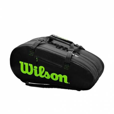 Geanta tenis Wilson Super Tour, 15 rachete, negru