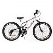 "Bicicleta MTB PASSATI STORM 26"", ALB"