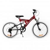 """Bicicleta MTB PASSATI VOYAGER 20"""", ROSU"""