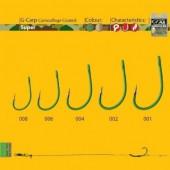 Carlige crap GAMAKATSU A1 G-CARP GREEN SUPER 10BUC/PL, nr.2