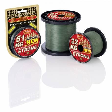 Fir textil WFT Strong Verde, 15kg, 0.12mm, 300m