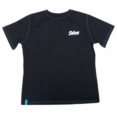 Tricou SALMO 2019, bumbac, negru, marimea XL