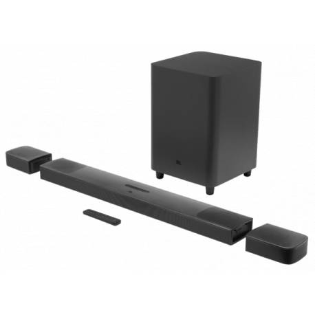 9.1-ch Soundbar with wireless active subwoofer and Dolby Atmos