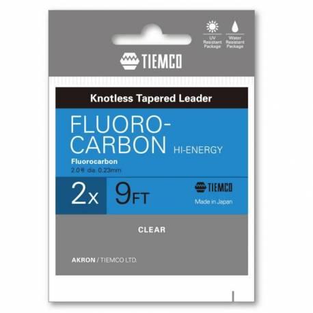 Inaintas fly TIEMCO FLUOROCARBON HI-ENERGY LEADER 9ft 4X