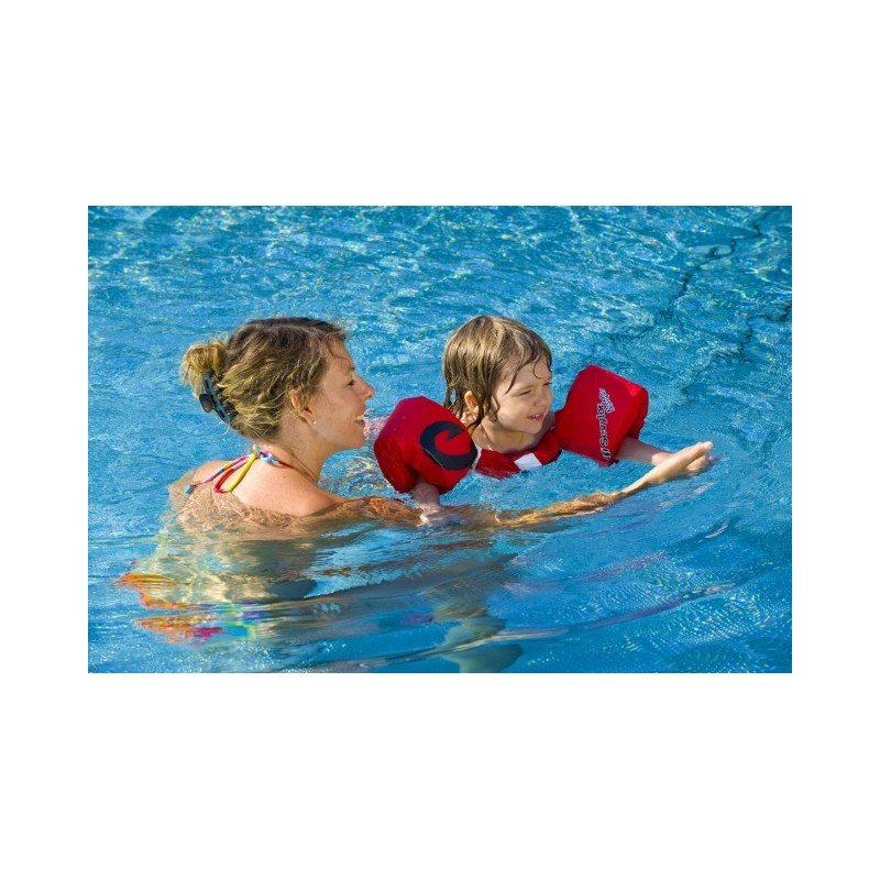 Aripioare inot sevylor puddle jumper rosu model pirati for Sevylor piscine