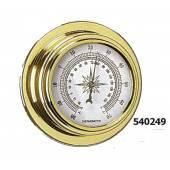 Termometru ANTARES 95, alama finisata, diametru cadran 70mm