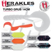 TURBO GRUB 14cm WHITE