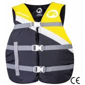 Vesta sporturi nautice SPINERA SAFETY VEST - 50N, marime universala, galben - negru