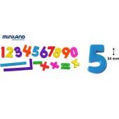 Numere magnetice MINILAND 162 buc