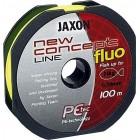 Fir textil JAXON CONCEPT LINE GALBEN FLUO 100m 0.18mm 20kg